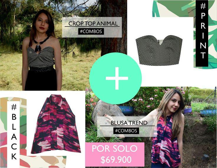 Últimas referencias disponibles!!!  Combos a increíbles precios!!!  #bogotá #croptop #woman #blusa #hechoencolombia