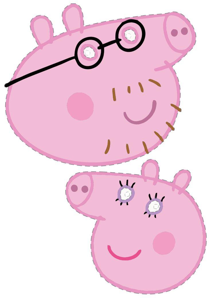 Máscaras para festa da Peppa Pig e Backyardigans para imprimir.   Vim postar algumas máscaras para brincar com a criançada dos personagens...