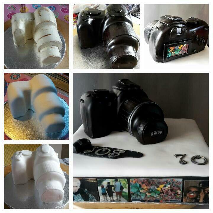 Photocamera cake