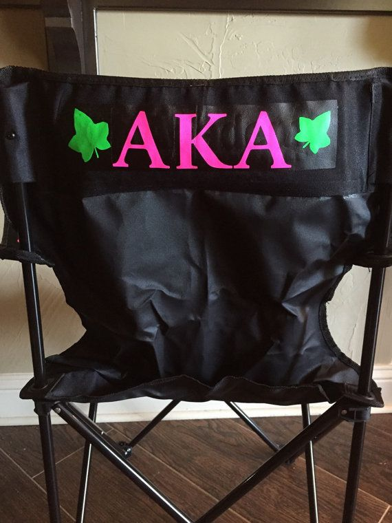 Aka Tailgating Chair Alpha Kappa Alpha Chairs 1908