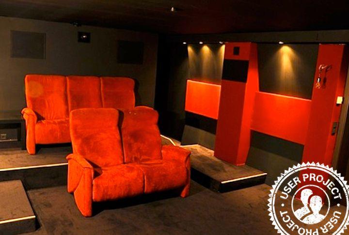 What a wonderful DIY idea from one of our Users: Home Cinema Room for relaxed evenings. Read the construction manual and find all important information. /// Was für ein schönes Heimwerkerprojekt von einem unserer User: Ein Heimkino für entspannte Abende. Findet alle wichtigen Informationen in der Bauanleitung: http://www.1-2-do.com/de/projekt/Heimkino-Extrem/bauanleitung-zum-selber-bauen/9751/ #Bosch #Makeityourhome #DIY