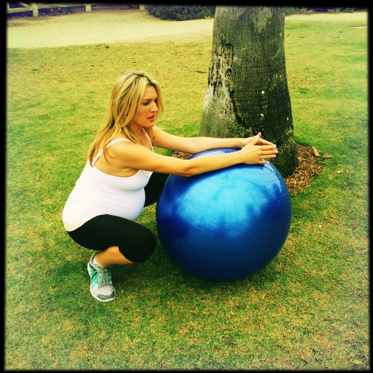 Loved my birth/yoga ball before, during and after birth.  Tip: Get one with sand in the bottom so it can't roll away!