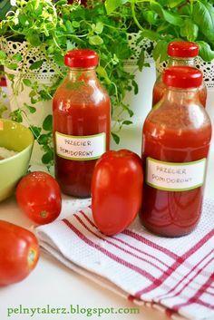 Pełny talerz: Przecier pomidorowy z ziołami