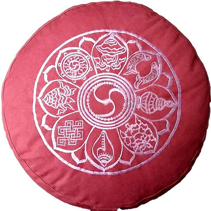 Meditationskissen YogiStick® 8 Symbole für Glück günstig kaufen