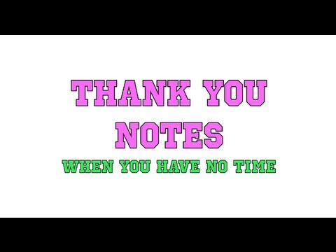 TIME SAVER!!! How to FIND TIME to write Mary Kay Thank You Notes.  www.michellesdreamteam.com