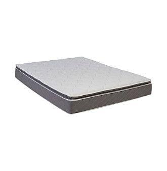 Wolf Corporation Luxury Ultra Firm Pillow Top Foam Mattress