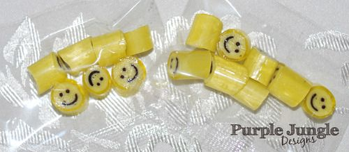 Don't forget to smile! 20g Mango Smiles Candy Bag - $2 each