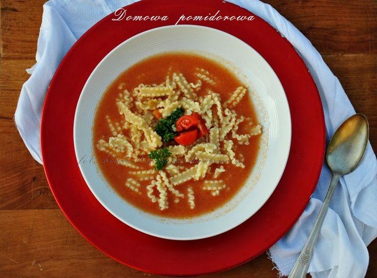 Kuchnia Marlenity: Zupa pomidorowa