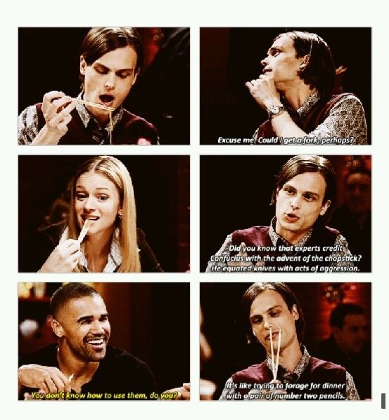 They are so adorable!!! LOVE CRIMINAL MINDS