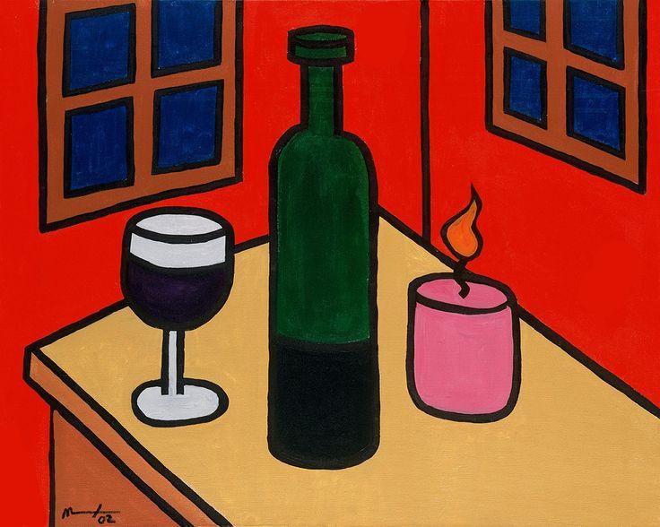 Stil Life in Red Room