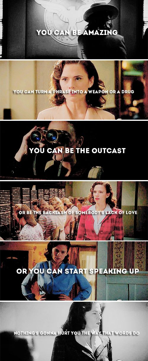 Agent Carter with lyrics from Brave by Sara Bareilles - This. Is. Awesome. #marvel #agentcarter #kurttasche