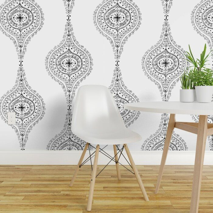 Bungalow Rose Ewart Removable Peel And Stick Wallpaper Roll Wayfair Peel And Stick Wallpaper Wallpaper Roll Decor