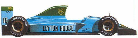 1991 Leyton House CG911 Ilmor LH10 V10