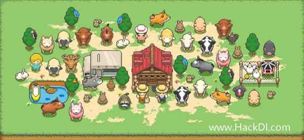 Tiny Pixel Farm Cover Cartoon Kids Farm Hacks Cartoon