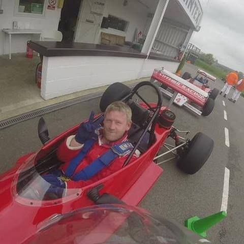 Loved this day driving a formula 3 car.