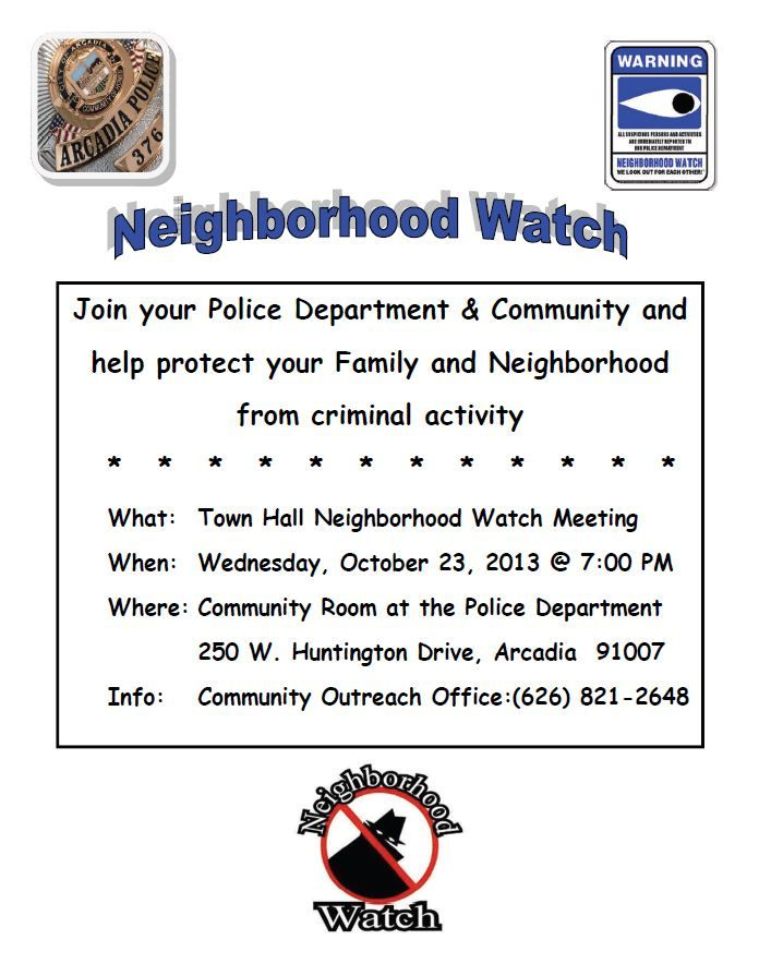 a study on neighborhood watch as crime prevention Neighborhood watch is a crime prevention program that utilizes the active   citizens guide to neighborhood watch home security survey personal  property.