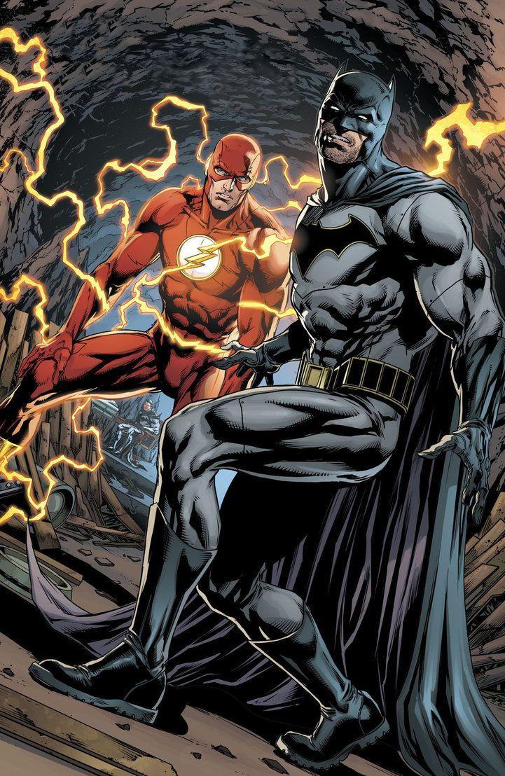 Thomas Wayne and Flash (#Flashpoint) by BatmanMoumen