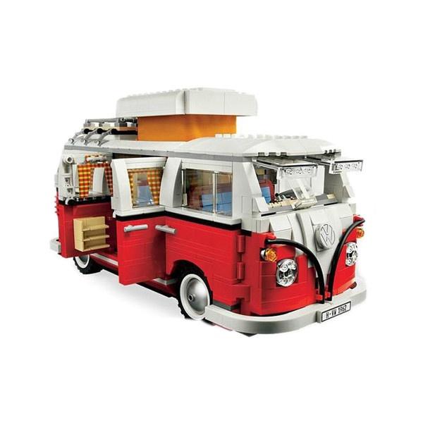 Lego-Volkswagen-T1-Van-0 ❤ liked on Polyvore