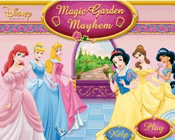 Princess Magic Garden Mayhem