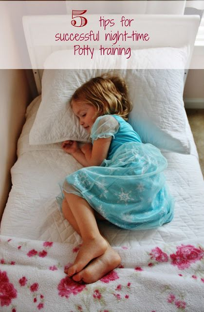 5 Tips For Successful Night-Time Potty Training #ConfidentKids #CollectiveBias #ad:)