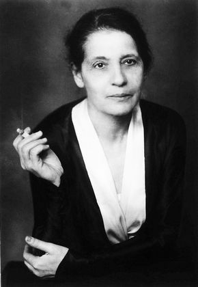 "Lise Meitner, Jewish Austrian physicist who was part of the team that discovered nuclear fission, an achievement for which her colleague Otto Hahn was awarded the Nobel Prize, and she was ignored. Born Nov 7, 1878, her sun was in Scorpio, sign of nuclear energy, her moon in Aries, sign of leadership and ""firsts."" Birth time unknown."