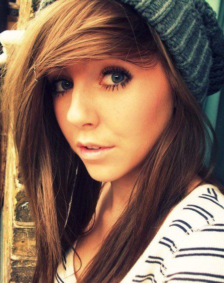 cute guy with brown hair and blue eyes | ... girls ...