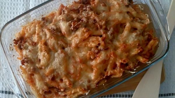 Receta de Macarrones gratinados con chorizo   #RecetasGratis #RecetasFáciles #macarrones #Pasta