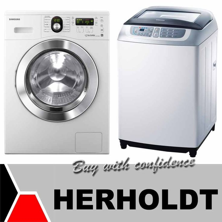 Time for a new washing machine? Visit us at the Herholdt