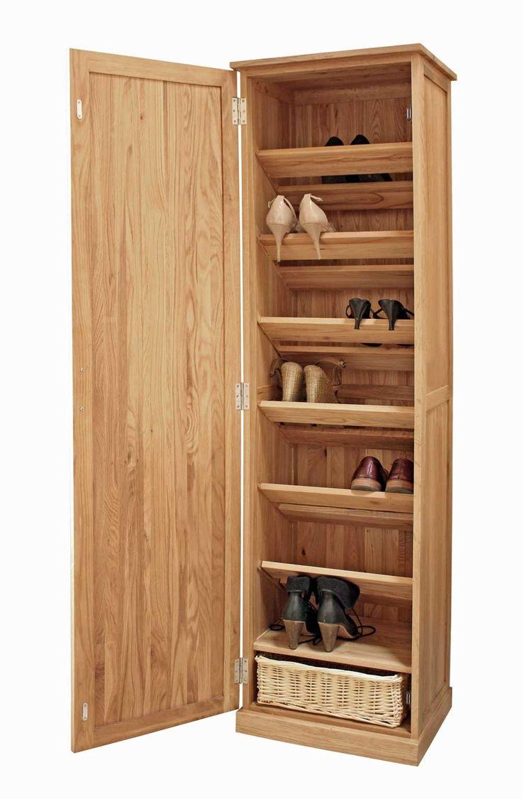 Tall Slim Shoe Storage Cabinet