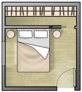 17 migliori idee su arredamento piccola camera su for Migliori planimetrie della cabina di log