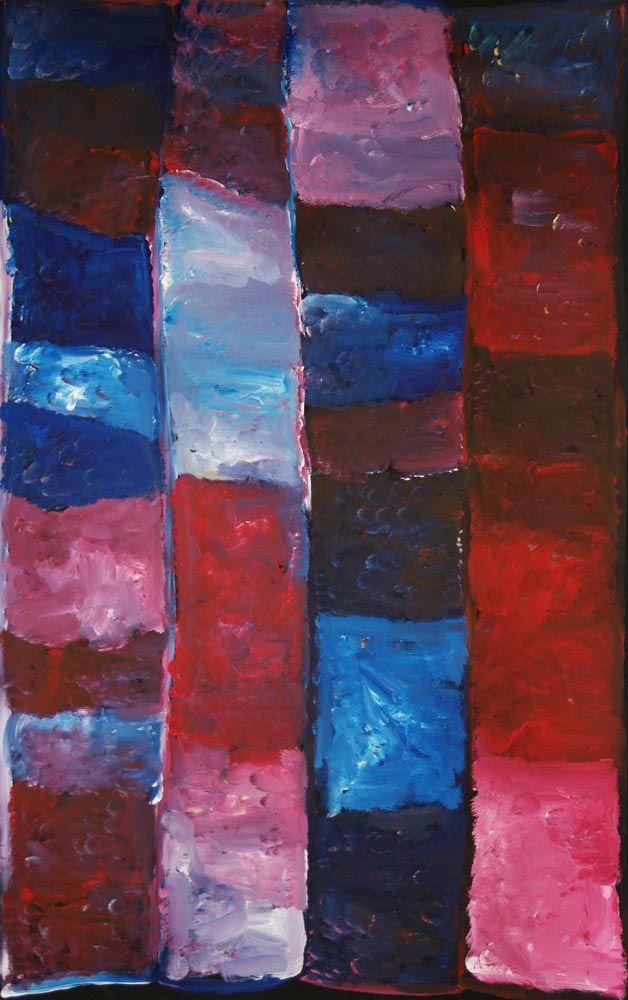 "Australian Aboriginal Art Painting by KUDDITJI KNGWARREYE ""My Country"" 150 x 95cm. KK1670 #artwork #canvas #australia"