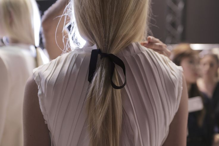 Backstage pictures from the Spring Summer 2014 Fashion Show. www.NinaRicci.com