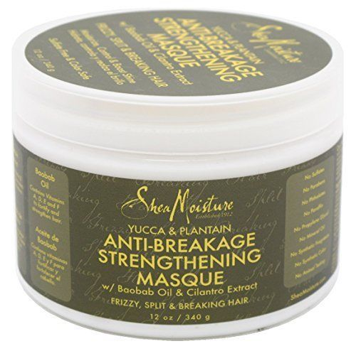 Shea Moisture Organic Yucca & Baobab Anti-Breakage Masque 12 oz