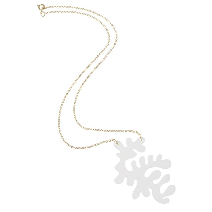 The inspiration for the wiggle necklace was taken from sea corals, and a  pinch…