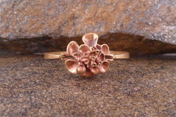 Vintage ValoKoru Reindeer Moss Bronze Bracelet от LifeUpNorth, $119.00