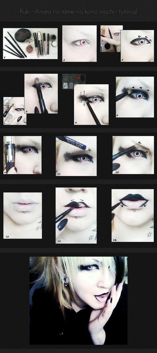 Anata no tame no kono inochi tutorial - Ruki by ~kawaiimomochan2006 on deviantART