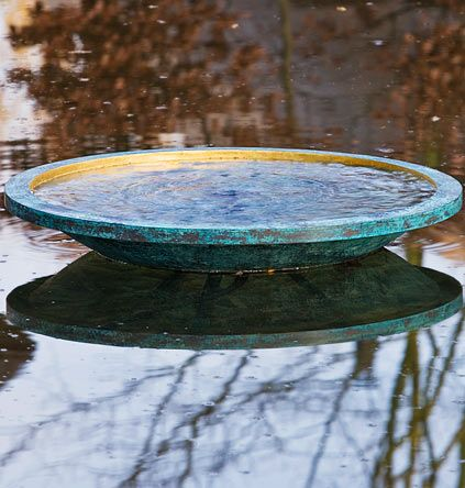 Water Feature Bowl. I like the categories of water features on his site.