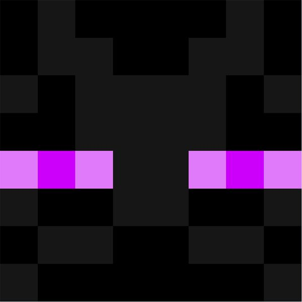 Enderman Face Minecraft Faces Minecraft Face Creeper