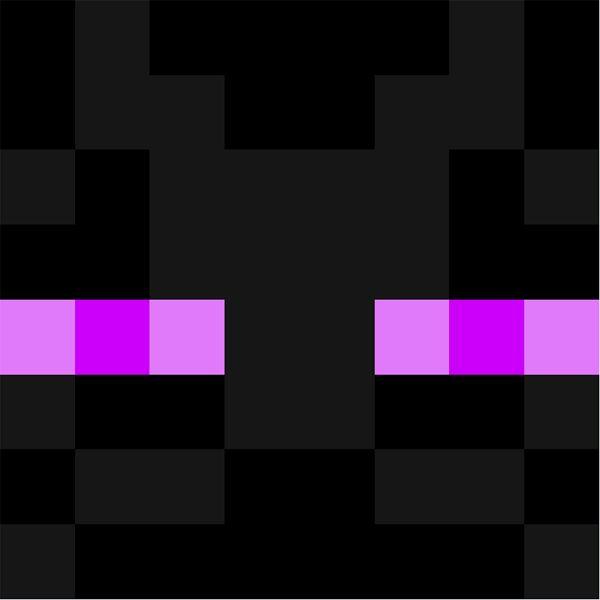 Enderman face | Minecraft Faces