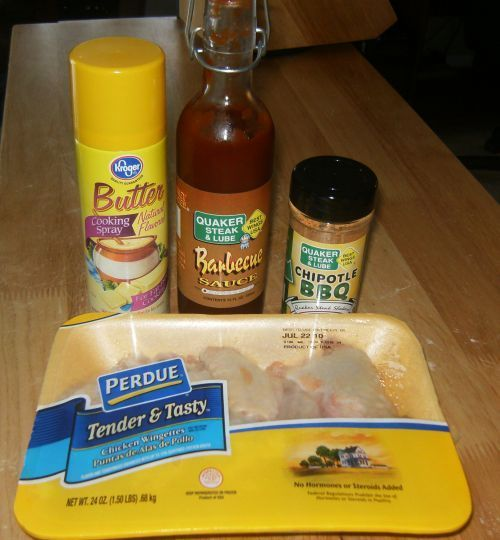 Today I'm posting how I made Dusted Chipotle BBQ Wings (Quaker Steak & Lube style), but you could use any flavor. I ordered the sauce and seasoning shaker from their website, but I'…