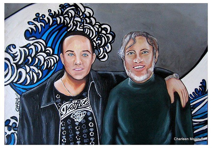 Richard and Roger . The Donelley's... by Charleen Morris