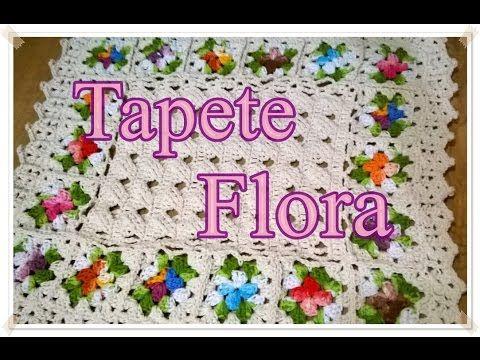 Vida com Arte | Mini Tapete com Flor Correntinha por Cristina Luriko - 30 de Junho de 2014 - YouTube