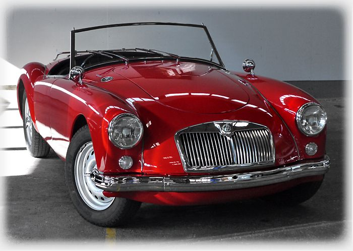 1959 MGA 1600 Twin Cam This is it - the 59 MGA I had from 16 to 21.  Wish I had kept this one, I loved it!!!