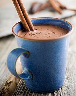 Delicious and guilt free! Sugar-Free Hot Chocolate... need I say more?