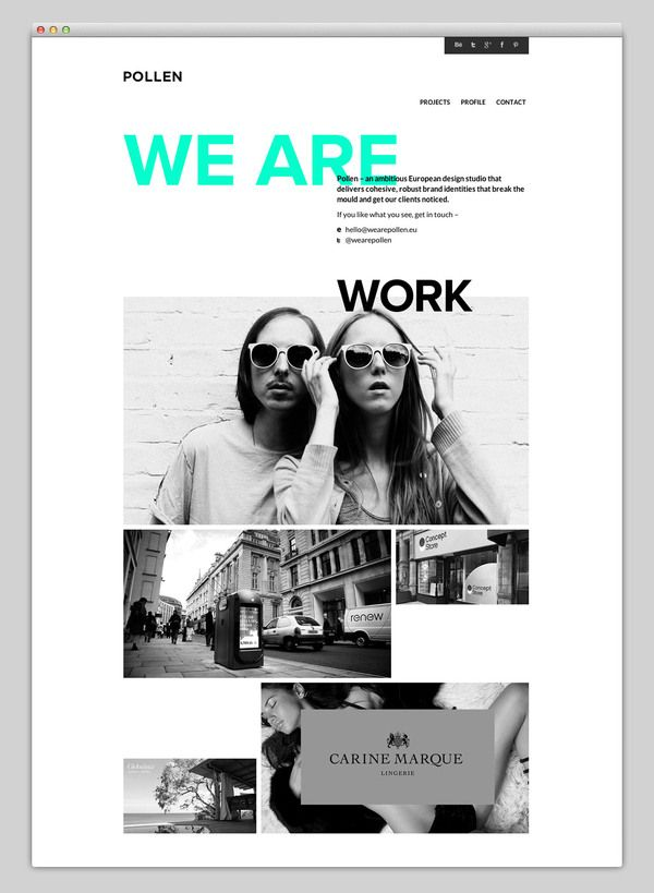 Web / Websites We Love — Designspiration