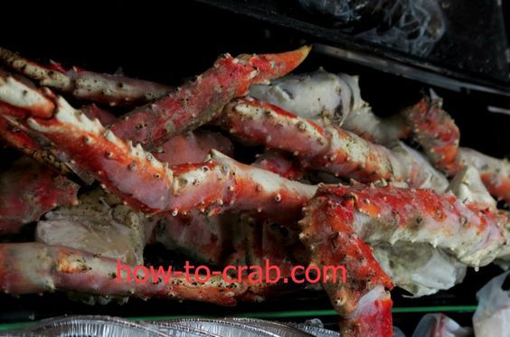 Cooking with frozen King crab legs. - Great Deals at www.AlaskaKingCrabs.com