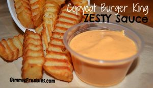 CopyCat Burger King Zesty Sauce!  Just 5 ingredients!! @GimmieFreebies_Recipes