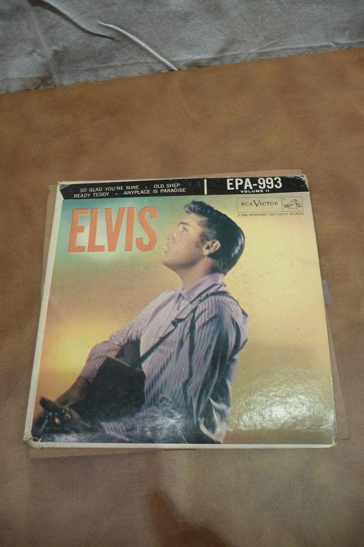 Elvis presley then amp now 25th anniversary collector s edition ebay - Elvis Epa 993 Elvis Presley