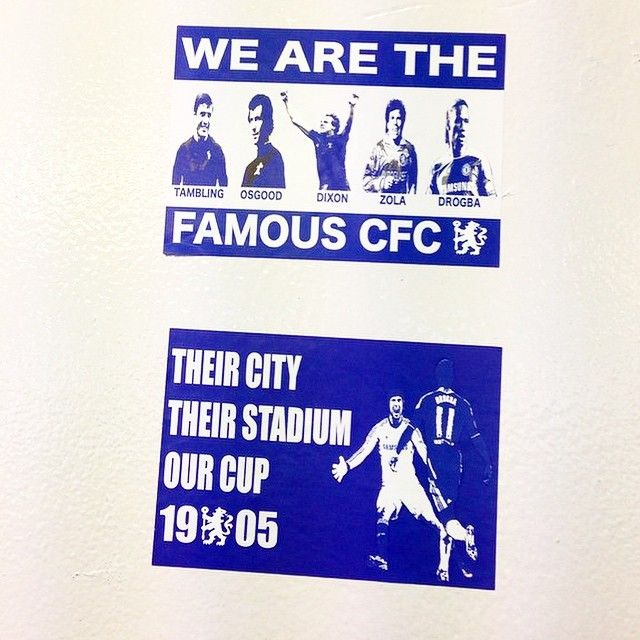 CHELSEA FC Stickers