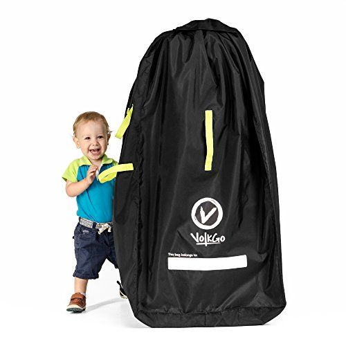 VolkGo DURABLE Stroller Bag for Airplane - Standard or Double / Dual Stroller Gate Check Bag. For price & product info go to: https://all4babies.co.business/volkgo-durable-stroller-bag-for-airplane-standard-or-double-dual-stroller-gate-check-bag/